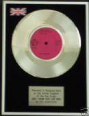 "THE SEARCHERS 7""Platinum Disc DONT THROW YOUR LOVE AWAY"